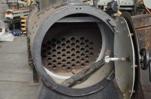 Bild eines Dampfkessels