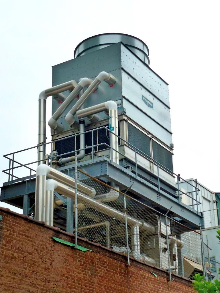 Bild Kühlturm, Verdunstungskühlanlage, Nasskühlturm