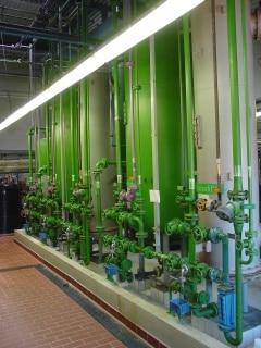 Entsalzungsanlage zur Teilentsalzung von Wasser