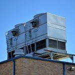 Kühlturm Verdunstungskühlanlage