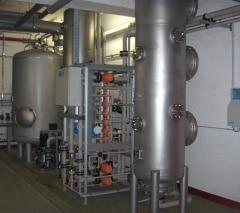 Vollentsalzungsanlage zur Wasseraufbereitung