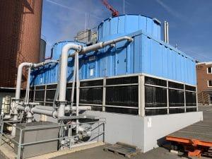 Gegenstand der Gefährdungsbeurteilung nach 42. BImschV: Verdunstungskühlanlage