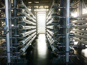 Umkehrosmoseanlage zur industriellen Wasseraufbereitung