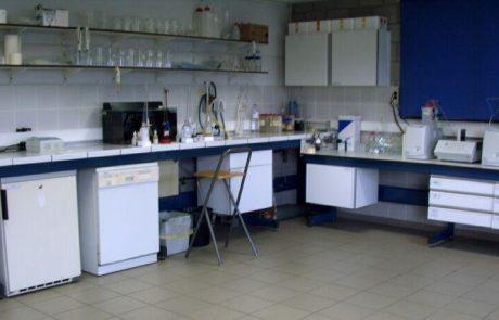 Labor für Wasseranalysen